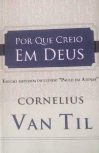 Capa de Livro: Por que creio em Deus