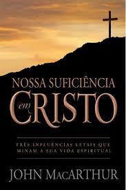 Capa de Livro: Nossa suficiência em Cristo