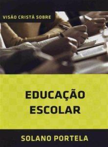 Capa de Livro: Educação Escolar