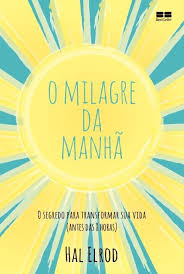Capa de Livro: O milagre da manhã