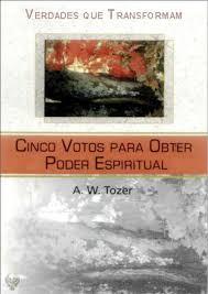 Capa de Livro: Cinco votos para obter poder espiritual